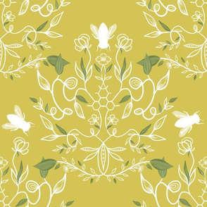 Bees in a damask world