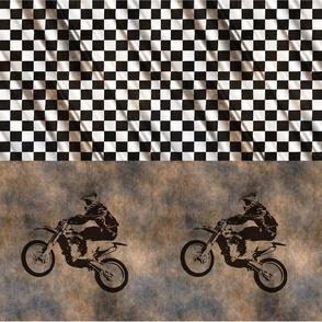 Dirtbike Cheater Quilt