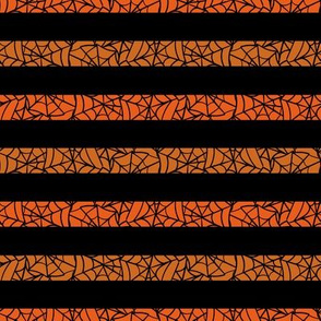halloween spiderweb stripes by rysunki_malunki