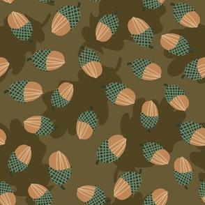 scattered acorns by rysunki_malunki