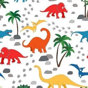 Dino world - brights