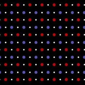 Polka dots to match moths on dots
