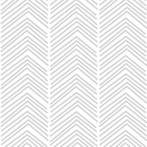 chevron love LG light grey
