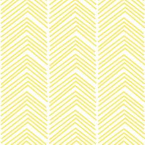chevron love LG lemon yellow