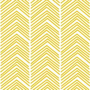 chevron love LG mustard yellow