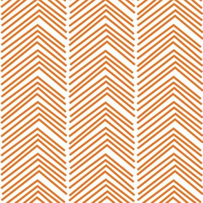 chevron love LG orange