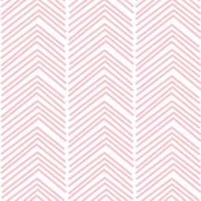 chevron love LG light pink