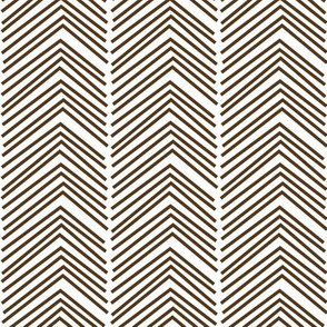 chevron love LG brown
