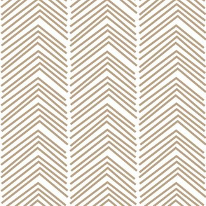 chevron love LG tan
