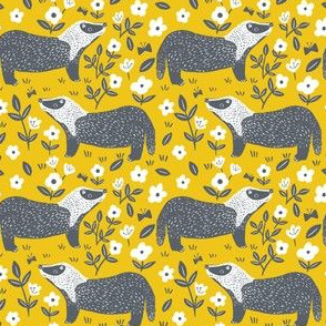 Yellow Badgers, Small