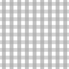 gingham 1in grey
