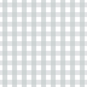 gingham 1in sterling grey