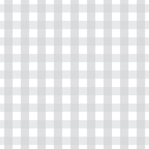 gingham 1in light grey