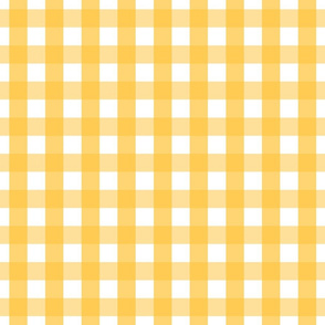 gingham 1in golden honey
