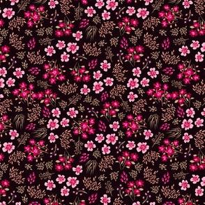 22_LibertyStyleFlowers_Black pink