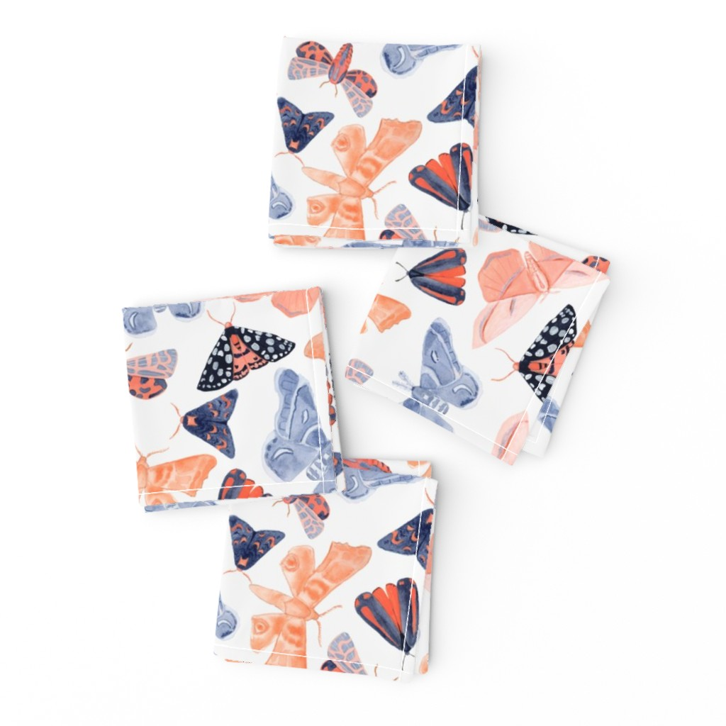 Frizzle Cocktail Napkins featuring Night Circus - Large by tarakatedesigns