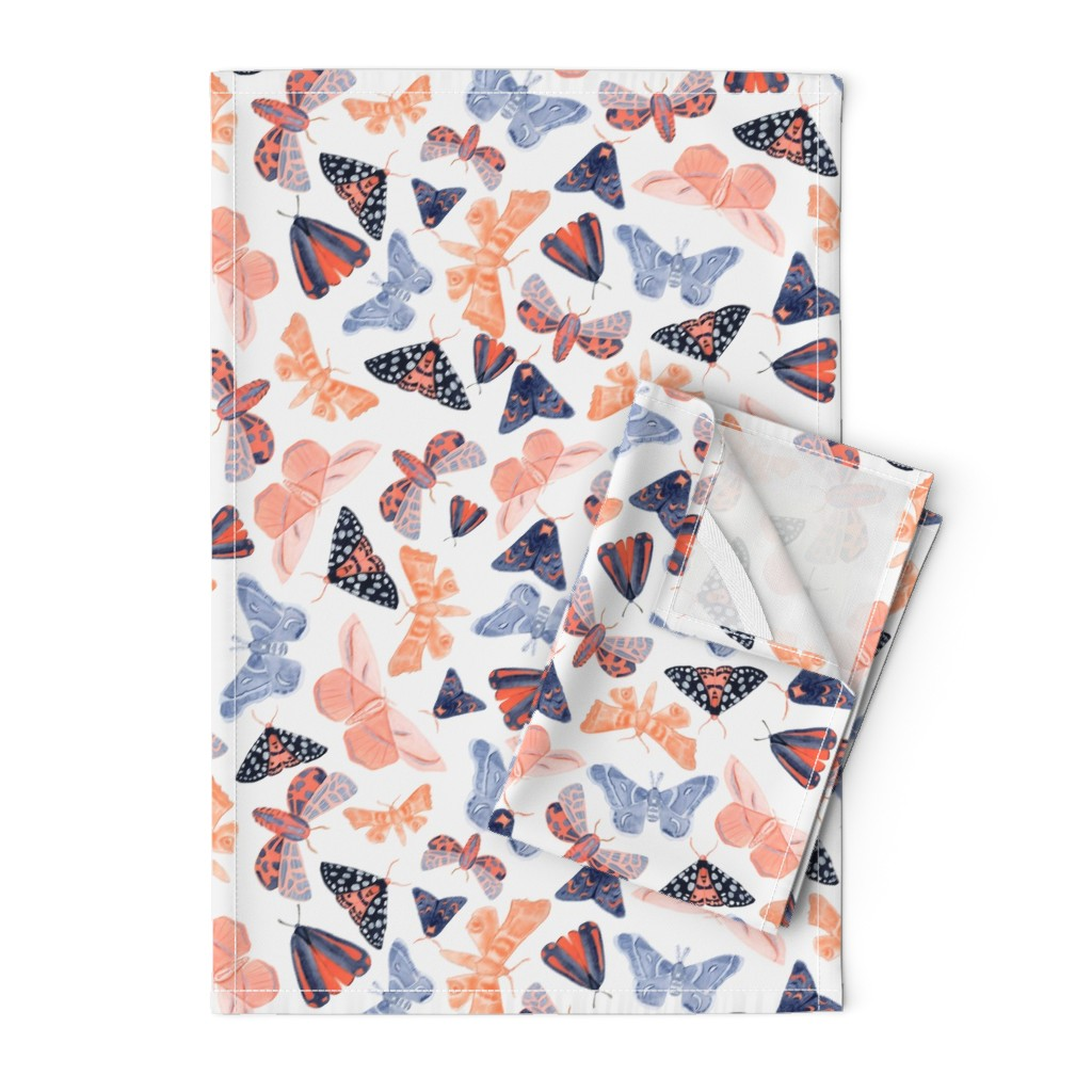 Orpington Tea Towels featuring Night Circus - Large by tarakatedesigns