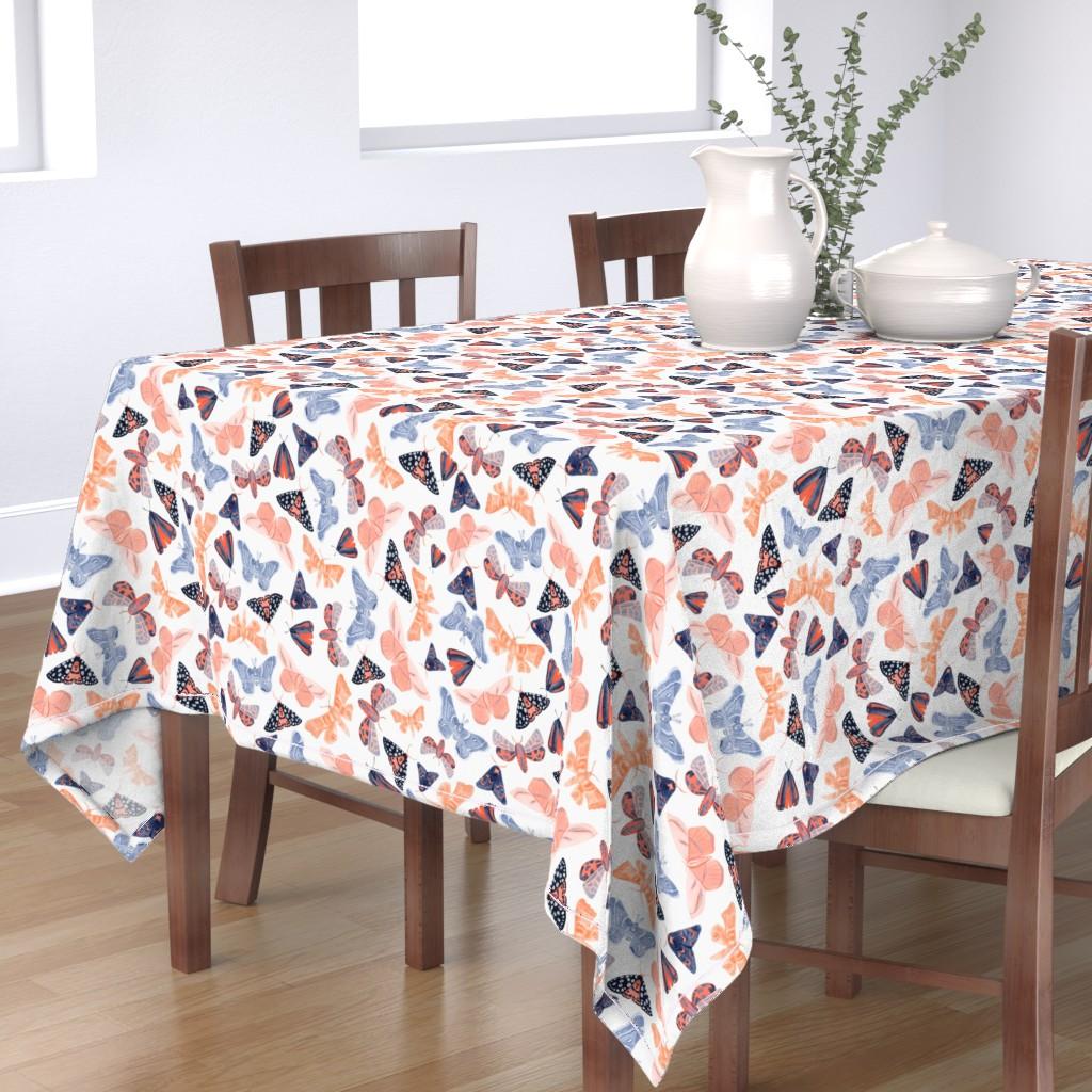 Bantam Rectangular Tablecloth featuring Night Circus - Large by tarakatedesigns