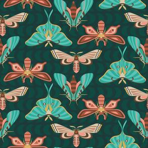 modern moths emerald