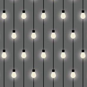Fairy Lights - Lights on Warm Gray - © Autumn Musick 2019