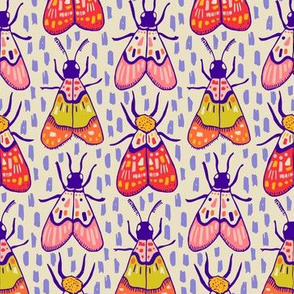 Sunny Moths