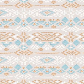 Minimal vintage mudcloth bohemian mayan abstract indian summer love aztec beige blue boys