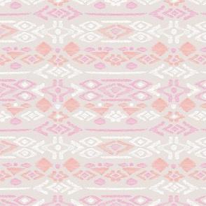 Minimal vintage mudcloth bohemian mayan abstract indian summer love aztec beige pink peach