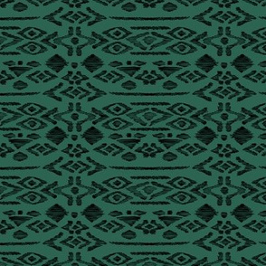 Minimal vintage mudcloth bohemian mayan abstract indian summer love aztec forest green winter
