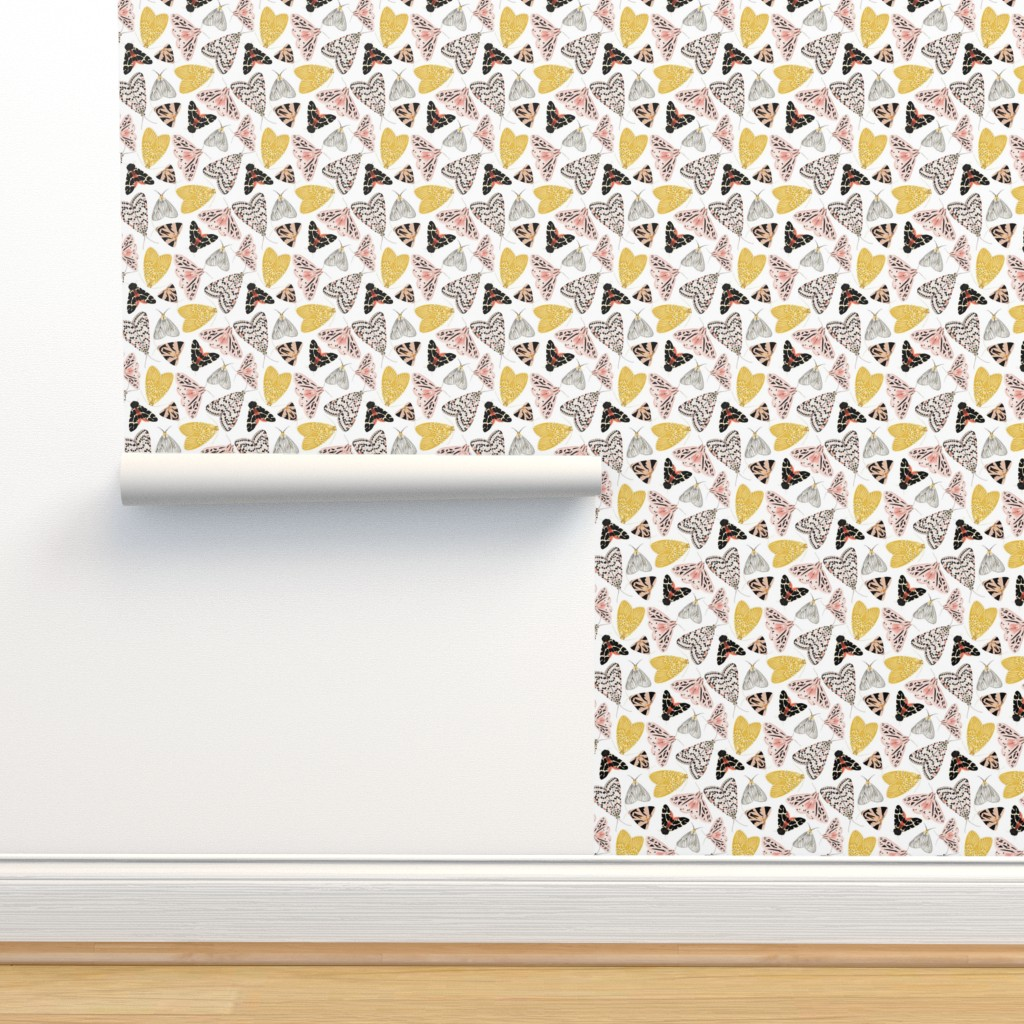 Isobar Durable Wallpaper featuring Moth's beauty  by jenniejoyce