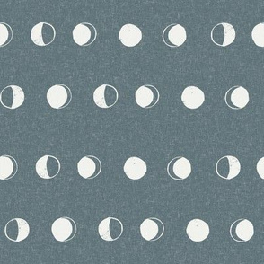 moon phase fabric - stone sfx4011 - moon fabric, nursery fabric, baby fabric, boho fabric, witch fabric, muted fabric, earth toned fabric, muted colors