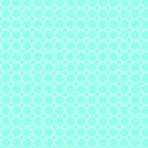 seafoam dots