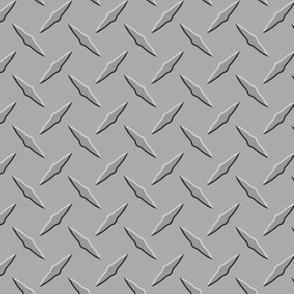 Diamondplate Metal - Tread Plate