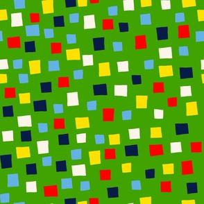 Confetti Green