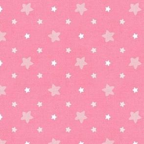 Sleepy Series Pink Stars Mid-tone Large