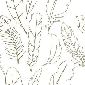Bronze Feathers