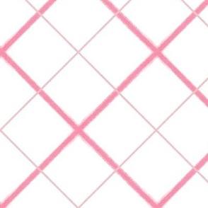 Sleepy Series Pink Tattersall Light Jumbo