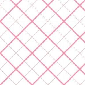 Sleepy Series Pink Tattersall Light Large