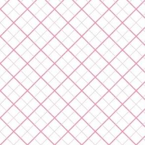 Sleepy Series Pink Tattersall Light
