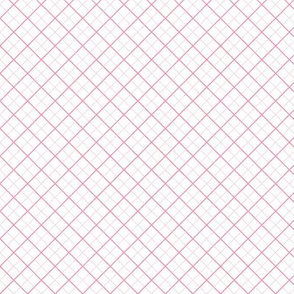 Sleepy Series Pink Tattersall Light Ditsy