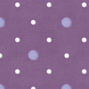 Sleepy Series Lavender Dots Mid-tone Jumbo