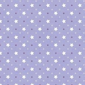 Sleepy Series Lavender Stars Light