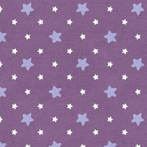Sleepy Series Lavender Stars Mid-tone Large