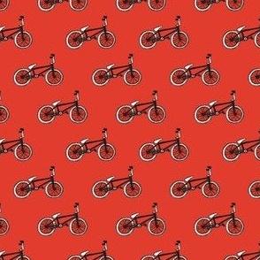 BMX bikes small red