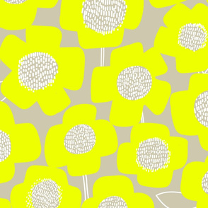 PopUpFlower_Lemon/Khaki