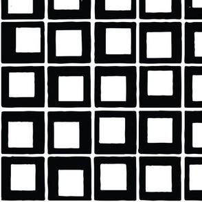 Black White Tile