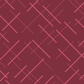 Striped pattern in pink red