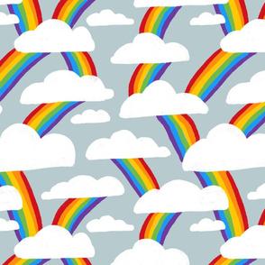 Rainbow cascade