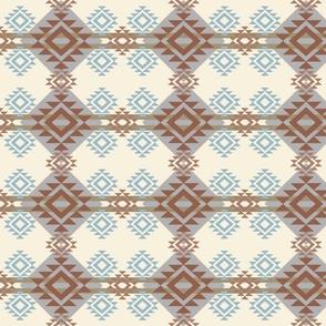 neutral aztec bedding