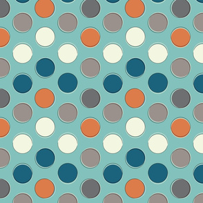 Fishtown dots orange-01