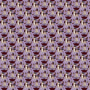 Tiny Creepy Dollhouse (lavender)